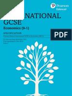 Pearson Edexcel international gcse economics