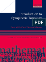 (Oxford graduate texts in mathematics 27) McDuff, Dusa_ Salamon, Dietmar - Introduction to symplectic topology-Oxford University Press (2017).pdf