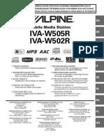 Alpine Iva w505r
