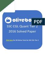 SSCCGLTier2SolvedPaper2016