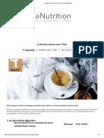4 infusions maison pour l'hiver _ LaNutrition.fr