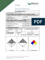 MSDS Sulfato de Cobre Pentahidratado