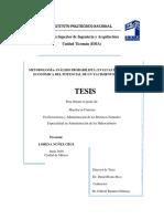 Metodología-análisis probabilista. Evaluación técnica-económica del potencial de un yacimiento petrolero.pdf
