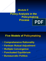Module 5 Policy Making
