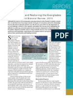 Progress Toward Restoring the Everglades, Report in Brief