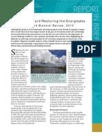 Progress Toward Restoring the Everglades, Report in Brief