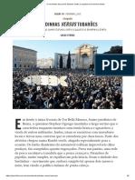 O movimento dos jovens italianos contra o populismo de extrema direita, por LUCAS FERRAZ