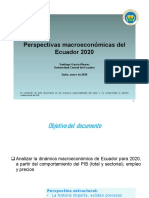 perspectivas macroeconomicas ecuador 2020