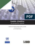 2010 109 Cambio Climatico Una Perspectiva Regional