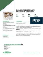 bolo chocolate branco com mirtilos