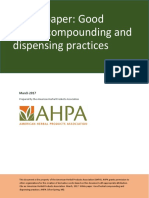 AHPA Good Herbal Compounding and Dispensing Practices+slideshare