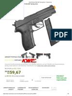 Airsoft Pistola P226 KWC Spring 6mm - VentureShop