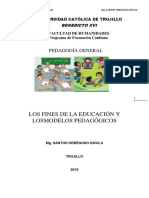 MODULO II DE PEDAGOGÍA GENERAL VIRTUAL