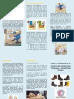 Triptico N°02 - Protección de Pies.docx