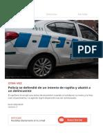 Policía y delincuente