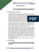 I.MEMORIA DESCRIPTIVA PLAZA SAN RAFAEL.doc