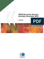 OECD Economic Surveys Australia, Nov 2010