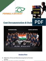 Cost Presentation - FBAC2019