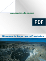 3.-Minerales de Mena