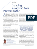Are You Hanging Pathogens Around Your Patients Neck