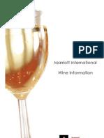 Marriott Wine Info Pack 2007-2008