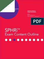 2018-sphri-exam-content-outline