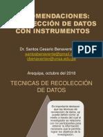 TECNICAS DE RECOLECCIÓN DE DATOS PARA LA INVESTIGACIÓN