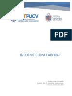 INFORME DE CLIMA LABORAL Y COMUNICACIÓN