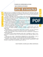 EXAMEN DE SEXTO GRADO COMPRENSION LECTORA