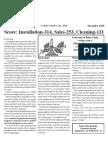 2010 December - page 1 of Bane-Clene newsletter