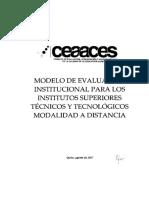 Modelo de evaluación Ecuador