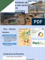monitoreo industria minera