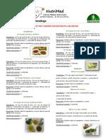 Vinagretas y aderezos bajos en calorías