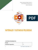 Materiales PeligrososFinal RAMON NORONO