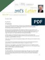 Presidents Letter - Alberta Medical Association