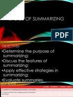 Basics-Of-Summarizing
