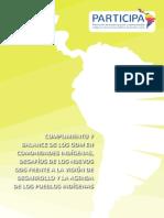 Cumplimiento y balance de los ODM en comunidades indígenas, desafíos de los nuevos ODS