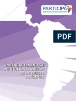 Políticas públicas e institucionalización de intereses indígenas