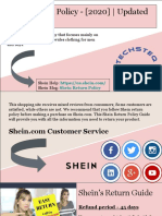 Shein's Return Policy - [2020] | Updated Guide