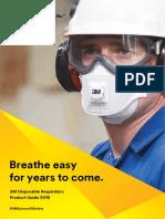 3M ANZ Disposable Respirators Brochure 2019