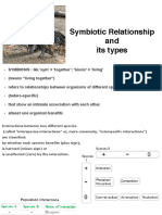 Symbiotic Relationship and its Types