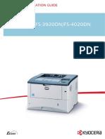 Kyocera Printer 3920DN