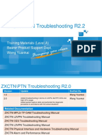 ZXCTNPTN Troubleshooting