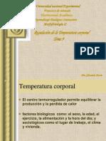 Tema 9 Regulacion de la temperatura