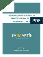 INSTRUMENTO GUIA PARA LA CONSTRUCCIÓN DE LA HC Final