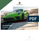911 GT3 RS - Katalog