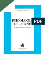 Gilberto Fanfoni-psicologia Del Cane