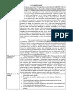 Concept Paper J. Orque
