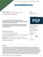 La Evaluación Del Estrés Postraumático_ Presentación de La Escala de Evaluación Global de Estrés Postraumático (EGEP)
