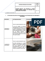 Informe Kenworth Enero 2020 Mecanico
